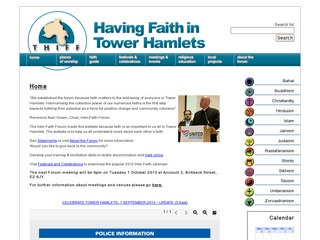 Having Faith In Tower Hamlets